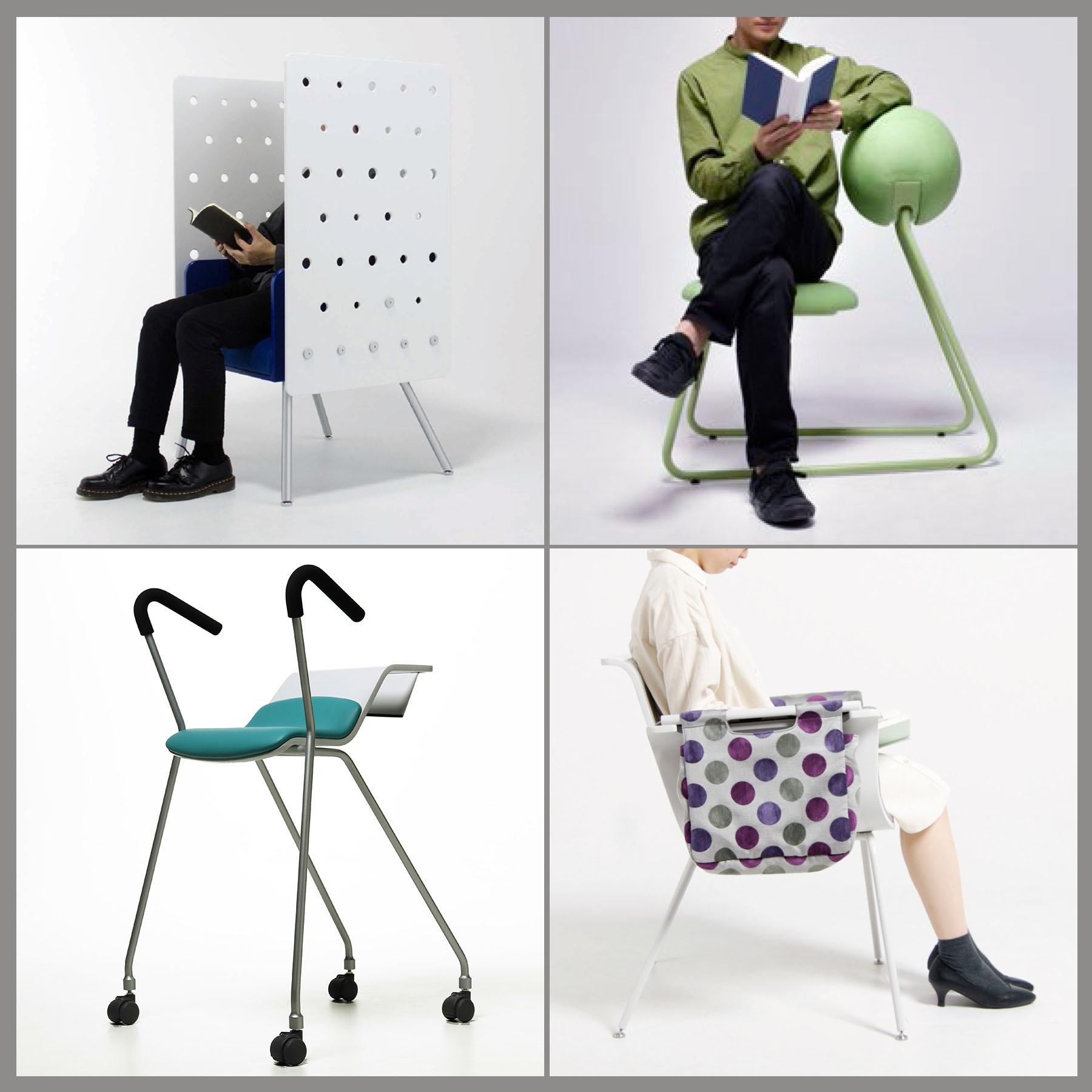 製品デザイン専攻・根来准教授の授業課題「図書館で過ごす時間を豊かにする椅子」 が国立国会図書館のカレントアウェアネス・ポータルに掲載されました。