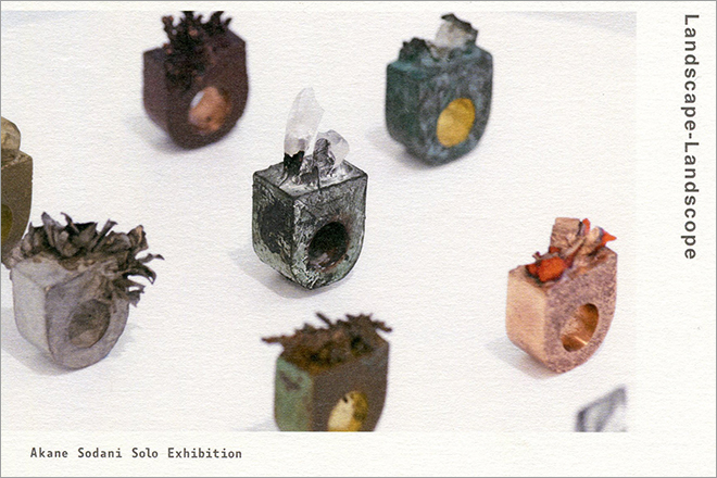 Akane Sodani Solo Exhibition<br>Landscape – Landscope